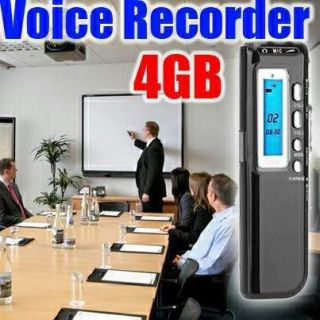 4GB 650Hr Digital Spy Audio Voice Recorder Dictaphone Pen Flash Drive