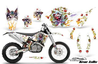 AMR RACING GRAPHIC KIT KTM 450XC SX 525/450/250/530 EXC XC W 07,08,09