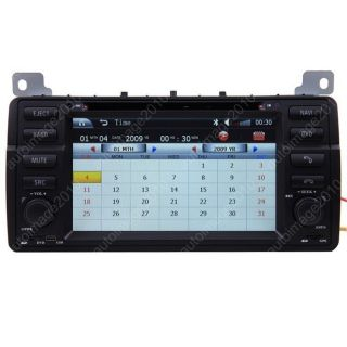 Car GPS Navigation Double DIN TFT 7 inch TV DVD Player Radio for 99 05