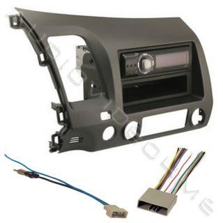 Stereo CD Player Radio Install Dash Mount Kit Combo Earth Taupe Face