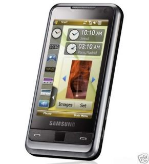NEW UNLOCKED SAMSUNG OMNIA i900 BLACK 8GB GPS 3G UNLOCKED CELL PHONE