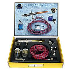 Paasche Talon TS, Siphon Feed Airbrush Kit, TS SET