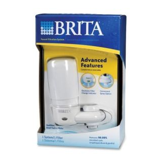 Brita Faucet Filter System On faucet filtration system w filter change