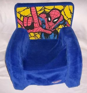 Super Hero Foam Plush Rocking Chair Child Toddler Hard to Find