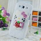 Kitty Bling Crystal Gem Hard Skin Case Cover Samsung Continuum i400