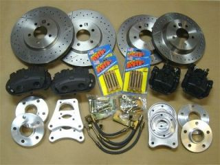 Vintage Venom Ford Mustang Cobra 13 Disc Brake & Wheel Conversion Kit