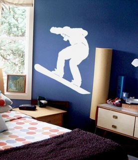 Snowboarder Kids Room Wall Decal Decor