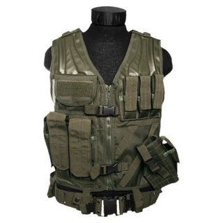 USMC Marines ASSAULT Military COMBAT Paintball TACTICAL VEST Airsoft