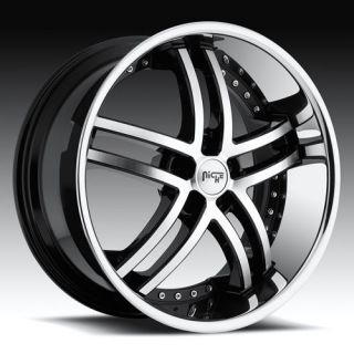 22 Niche 22 inch ESSENCE RIMS Wheels & TIRES Package for Dodge