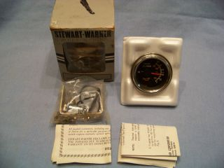 VINTAGE STEWART WARNER ENGINE OIL PRESSURE GAUGE #82705   NOS