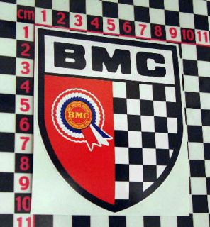 BMC Decal Mini Cooper S Austin A30 A40 A35 Healey   Loads more British