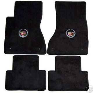 Cadillac CTS 4 pc Carpeted Floor Mats with Choice of Logo   Lloyd
