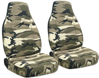 FORD RANGER CAR SEAT COVERS 60/40 HI FRONT CAMO TAN BEIGE