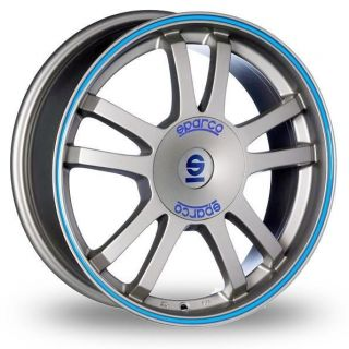 17 Sparco Rally Alloy Wheels & Nankang AS 1 Tyres   CHEVROLET KALOS