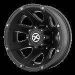 17 Inch Black Wheels Rims Ford F 350 450 F350 F450 SuperDuty Dually
