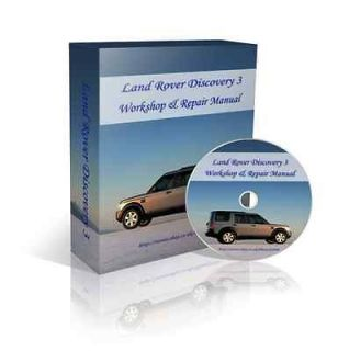 Land Rover DISCOVERY 3 III Car Workshop Service Repair Manual + Wiring