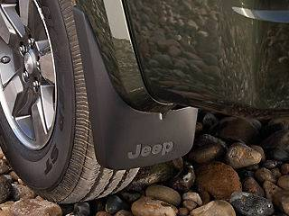 Jeep Liberty Front Molded Splash Guards, Mud Flaps (Fits Jeep Liberty