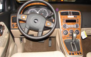 Land Rover Discovery 95 98 Interior Wood Pattern Dash Kit Trim