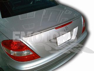 PAINTED MERCEDES BENZ SLK CLASS R171 Convertible A Type Trunk Spoiler