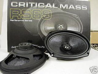 TOYOTA CAMRY FRONT DOOR SPEAKERS 6X9 CRITICAL MASS AUDIO RS69 BEST