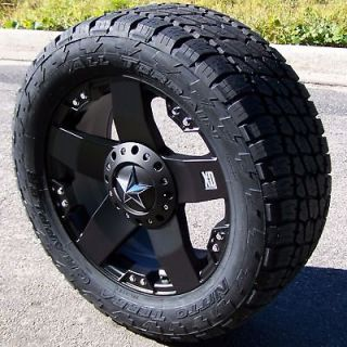 XD ROCKSTAR WHEELS & NITTO TERRA GRAPPLER TIRES TOYOTA TUNDRA SEQUOIA