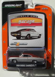 GREENLIGHT MCG STOCK & CUSTOM SERIES 10 1968 DODGE CHARGER R/T