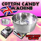 Electric Cotton Candy Machine Commercial Floss Maker 240v 50hz UK Plug