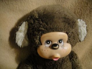 Antique Plush Doll Bear Character Baby Monkey Rubber Face Collectible