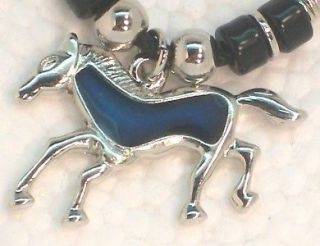 Horse Mood Color Change Pendant Necklace New Fast Ship From USA
