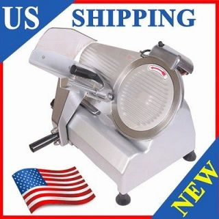 BRAND NEW 10 BLADE COMMERCIAL ELECTRIC MEAT SLICER SEMI AUTOMATIC a7