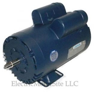 HP 3450 230V 1 Phase Air Compressor Electric Motor 56 Frame 5/8