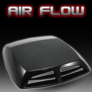 Auto decorative Air Flow Intake Scoop Turbo Bonnet Vent Cover hood