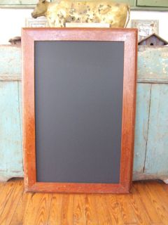 BARN Wood Frame Chalk board Blackboard SHABBY MENU BOARD Urban Chic