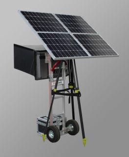 160W SOLAR POWER GENERATOR, W/CHARGER, 5V to 24V