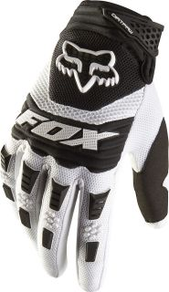 2013 FOX RACING DIRTPAW MOTOCROSS GLOVE WHITE ENDURO MX ATV BMX BIKE