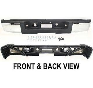 New Step Bumper Rear Chrome Full Size Truck Chevy Chevrolet Heavy Duty