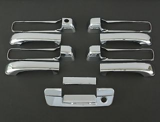 2010 2011 DODGE RAM 5D CHROME DOOR + TAILGATE HANDLE COVER