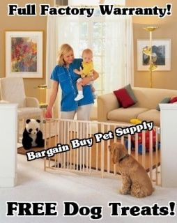 North States Extra Wide Swing Dog Pet Child Gate #4649