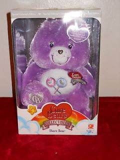 CARE BEARS COLLECTORS EDITION SHARE BEAR CRYSTAL COLLECTION SWAROVSKI