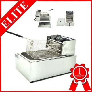 Commercial 2500W Steel Electric Fryer Deep Fryer