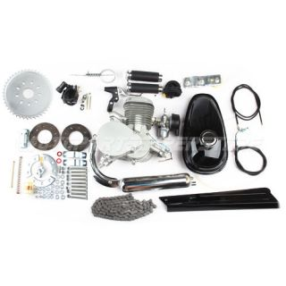 New 80cc 2 Stroke Engine Motor Kit for Motorized Bicycle Bike 40+MPH