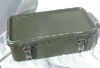 Vietnam War US Army USMC M 151 Mutt Jeep First Aid Kit, Empty, 1966