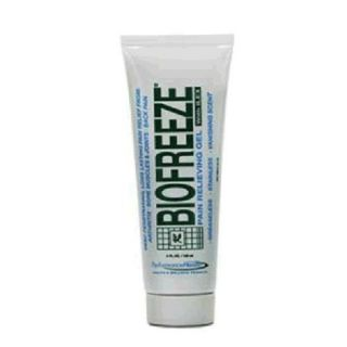 PACK **TWO TUBES** BIOFREEZE PAIN RELIEVING GEL 4 OZ TUBES FRESH