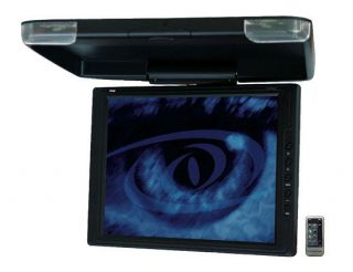 NEW PYLE PLVWR1542 15 LCD Flipdown Roof Mount Car TV Monitor w/IR