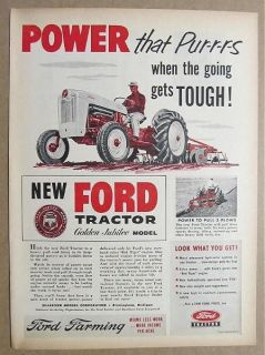 1953 ford jubilee tractor in Antique Tractors & Equipment