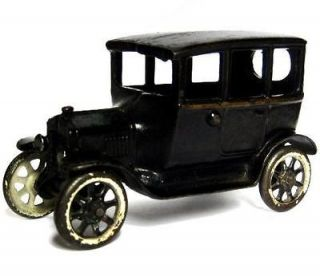 Vintage 1923 Arcade Center Door Cast Iron Ford Model T Tudor Sedan Car