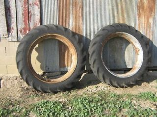 38 Tractor Tire & Rims 11 38 Same as 12.4   38 Good Tread Farmall