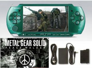 Sony PSP 3000 Metal Gear Solid Peace Walker Entertainment Pack