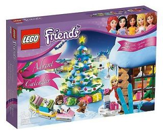 2012 LEGO Friends Girls Advent Calendar Holiday Set NEW Sealed