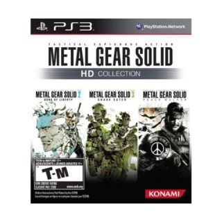 Metal Gear Solid HD Collection (Sony Playstation 3, 2011)